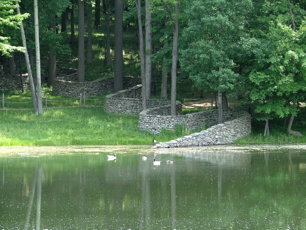 Stone King Wall - Andy Goldsworthy