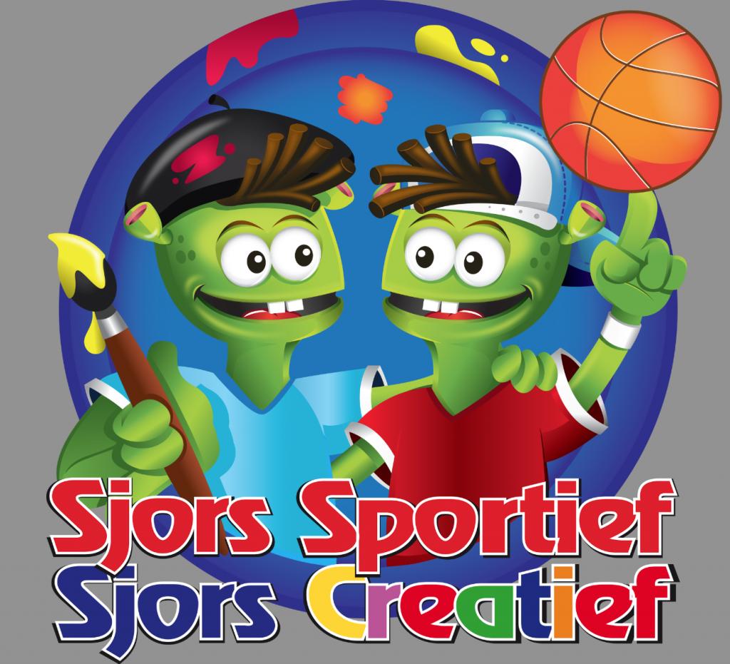 tekenwedstrijd sjors sportief en sjors creatief