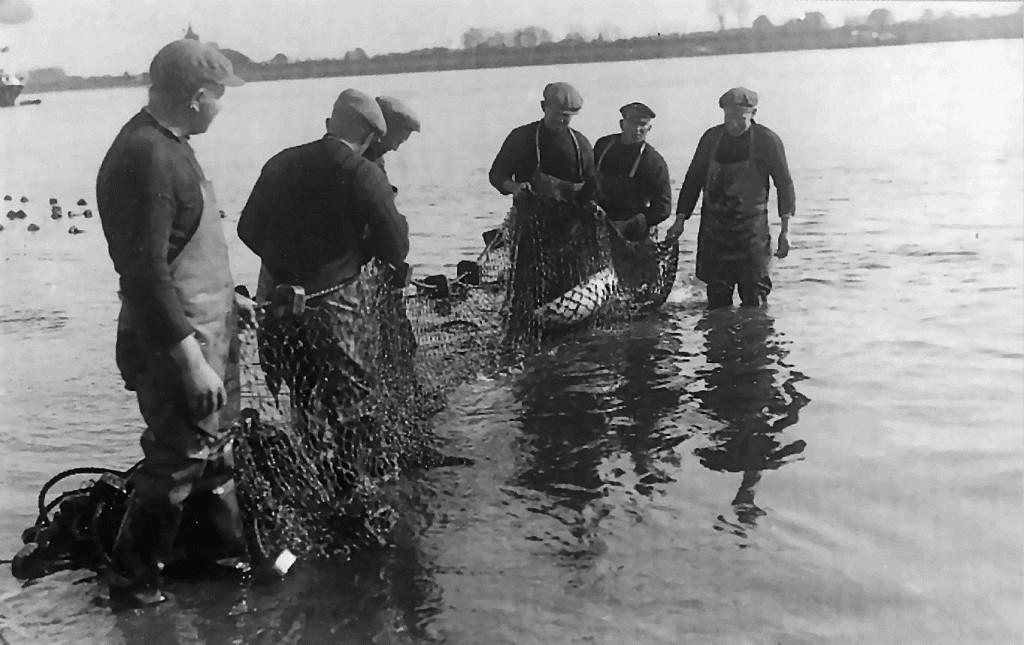 Visserij op de grote rivieren